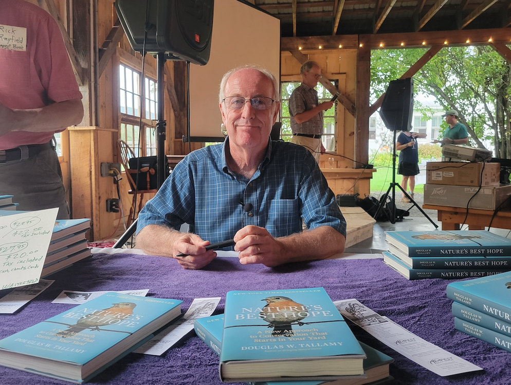 """Doug Tallamy and his book, """"Nature's Best Hope"""""""